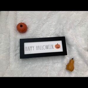 Rae Dunn Halloween sign